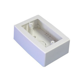 Caja De Registro Universal, Color Blanco De Pvc