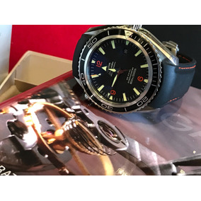 Omega Seamaster Planet Ocean Caucho 45 Mm Full Set Subm Expl