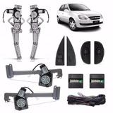 Kit Vidro Eletrico Corsa Wind 4p + Kit Porta Malas 98 À 05