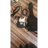 Guitarra Squier Telecaster Fender + Pedal G1next