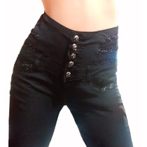 Pantalón Elastizado Con Cintura Faja Como Calza- Hasta El 46