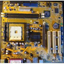 Motherboard Asus K8v-mx Para Repuesto Funcionando