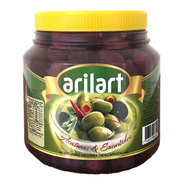 Aceitunas Negras Naturales Descarozadas 0 X 1 Kg - Arilart