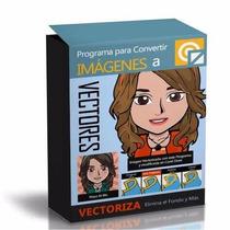 Programa P/ Vectorizar Imágenes Un Clic Convierte A Vectores
