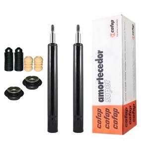 2 Amortecedores Dianteiros Gol / Saveiro G3 G4 +kit + Coxim