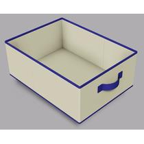 Caixa Organizadora Tecido Closet Decoração - Porta Objetos