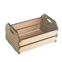 Mini Caixote De Feira 10x6,5x5 (caixotinho). Mettalcryl