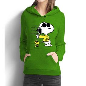 Blusa Moletom Casaco Feminino Snoop Dog Charlie Brown Desenh
