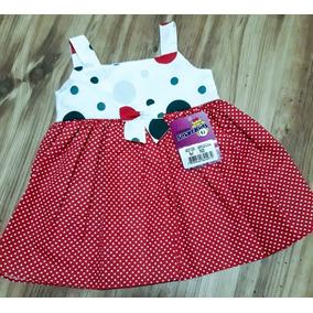 Vestido Bebê Festa Junina C/ Poá Bolinhas Vermelho E Branco