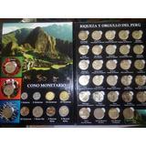 Álbumes De Colección De La Serie Numismática