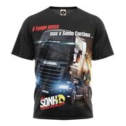 Camiseta Camisa Caminhoneiro Do Brasil Pe Na Estrada Blusa 3