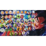 100 Tazos De Dragon Ball.coleccion Completa De Chetos. Cdmx