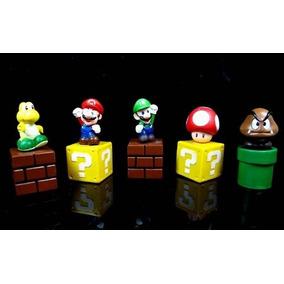 Kit Mario Bros 5 Miniaturas