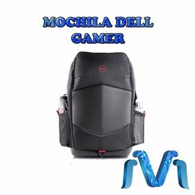 Mochila Dell Gamer Resistente Al Agua Laptop Portatil Juegos
