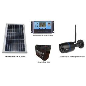 Camara De Videovigilancia Wifi Autónoma Con Energía Solar