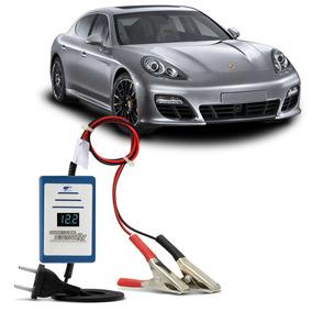 Carregador Bateria Com Voltímetro Carro 12v 150a Automático