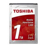 Disco Duro Interno Laptop Toshiba 1tb 2.5in 5400rpm