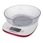 Balanza Cocina C/ Bowl Lcd Digital Ultracomb 1g A 3kg Precision