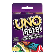 Uno Flip Cartas Con Dos Caras Juego De Mesa Mattel Gdr44