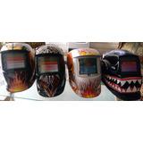 Mascaras De Soldar Pro Fotosensibles. (variedad De Diseños)