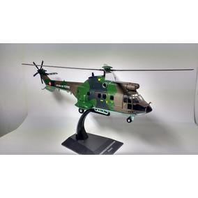 Miniatura Helicóptero De Combate As332 Super Puma - França