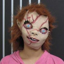 Máscara Cabeça Chucky Boneco Assassino Pronta Entrega