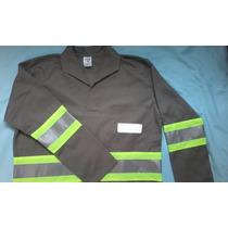Conj Brim Uniforme Prof Calça/camisa Manga Longa + Refletiva