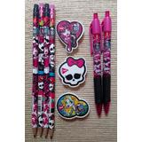 Kit Material Escolar Monster High