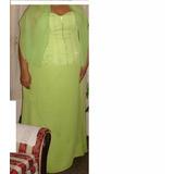 Vestido De Fiesta Hermoso. Dama Color Verde Manzana Plus Xl