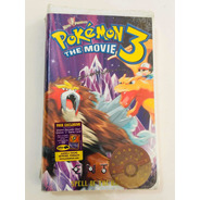 Antiga Fita Vhs Pokémon Exclusiva Lacrada
