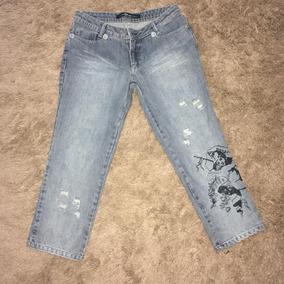 Calcas Jeans Capri Para Gordinhas - Calçados 766416d75eb