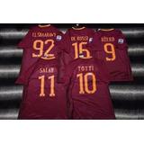 Camiseta Roma Nike Totti O Personalizada 2017