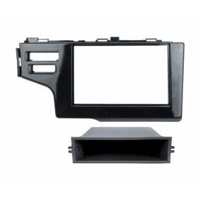 Moldura 1/2 Din Honda Fit City Dvd - Black Piano 2014/2015