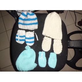 Gorros Y Guates Para Bebes Recien Nacidos Tejidos