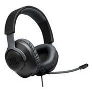 Auriculares Gamer Jbl Quantum 100 Negro Con Microfono