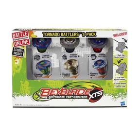 Beyblade Tornado Superior 3 Pack - L-drago, Lacerta E Águia