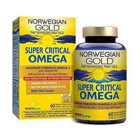 El Aceite De Pescado Noruego Oro, Super Critical Omega Por R