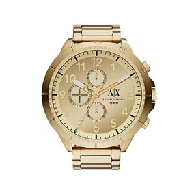 94a3fbf8cf9 Relogio Armani Exchange Masculino Dourado - Relógios De Pulso no ...