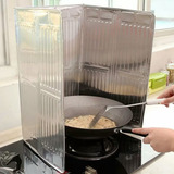 Estufa De Cocina Deflector Aluminio Aislamiento De Aceite