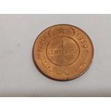 Moneda Somalia 1 Cents. 1950 Administracion Onu