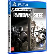 Tom Clancys Rainbow Six Siege Ps4 Ps5 Midia Português Nfe