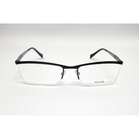 16da3f3ced6d6 Óculos Police Frame V 8742 0568 Metal Gun - Óculos no Mercado Livre ...