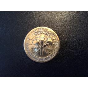 Moeda 1000 Réis - 1922 - Centenário Da Independência