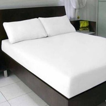Lençol 100% Algodão Solteiro S/ Elastico, Ideal P/ Hotéis