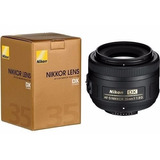 Lente Nikon Af-s 35mm 35 F/1.8g 1.8 G Garantia 2 Años