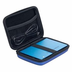 Estuche Azul Protector Porta Disco Duro Externo 2.5 Pulgadas