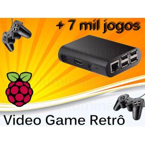Vídeo Game Retro Raspberry Pi3 Com Recalbox 32gb 2 Controle