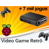 Vídeo Game Retro Raspberry Pi3 Com Recalbox 32gb 2 Controle