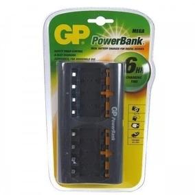 Cargador Múltiple Gp 8 Pilas Baterias Recargable Aa Aaa