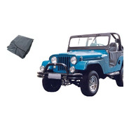 Tapete Verniz Jeep Willys Tds Preto
